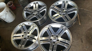 18 inch dodgers charger rims