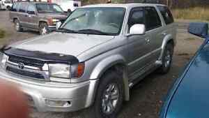 2001 Toyota 4runner Limited *REDUCED*