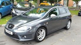 SEAT Leon 2.0 TDI CR FR 140PS (grey) 2011