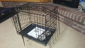 iCrate Folding Metal Dog Crate *Like New*