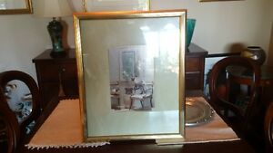 SEAL POINT SIAMESE CATS PICTURE/NICE FRAME