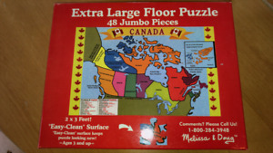 Melissa and Doug Canada Puzzle