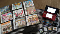 Nintendo 3DS and 10 Games,2GB SD card