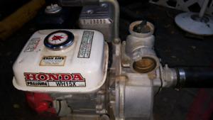Emergency pump kit with Honda pump wh15x 4hp