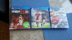 Ps4 games all 3 games