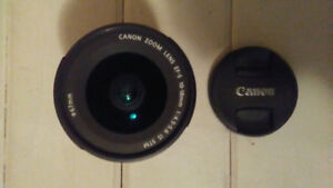 Canon EF 10 -18 lens (fish eye) and/or tripod opt15 optex