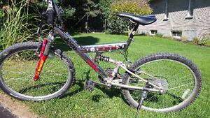 Vélo de montagne double suspension : Mountain Bike