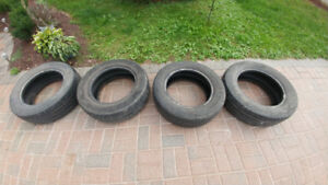4 cooper tires for sale. Used.