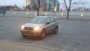 Toyota rav4 2005 low mileage 167000 km exchange or higher