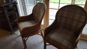 Pair of Sunroom chairs