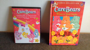 Care Bears DVD & hardcover book with 4 stories! ($4 for both)