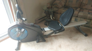 EXERCISE BIKE/ROW MACHINE