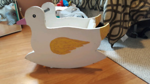 Wooden Duck Rocker