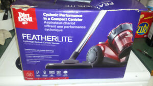 Dirt Devil Featherlite canister vacuum.  Brand new!