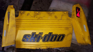 Skidoo ZX Snow flap