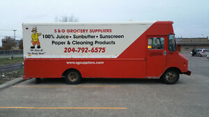 Grumman Van with New Reefer Unit for Sale