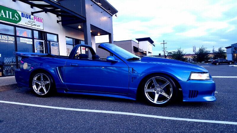 2000 Ford Mustang Gt Kandy Blue Paint Saleen Body Kit **