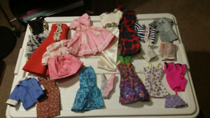 Vintage Barbie Doll Clothes.