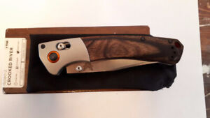 Trade Benchmade crooked river for mens bulova watch