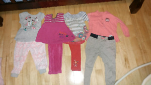 Vêtement bebe fille 1 mois à 24 mois