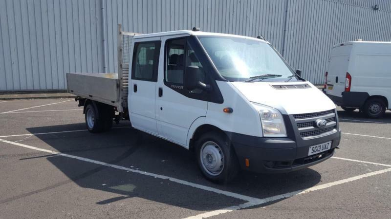 00898abc0f3708 2013 13 plate ford transit 100 t350 crew cab dropside pick up