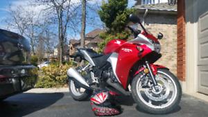 Honda CBR 250R w. ABS, 2012