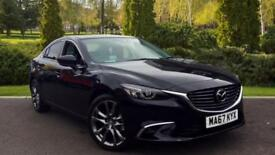 2017 Mazda 6 2.2d (175) Sport Nav 4dr WITH Automatic Diesel Saloon