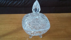 crystal accent bowl