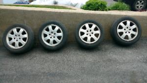 Mercedes mags 5x112 avec pneus 205 55 16