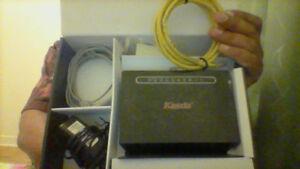 Kasda ADSL 2 modem and wireless router