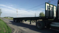 For Sale Flat Bed Trailer
