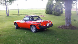 1979 MGB Classic convertible LOW miles