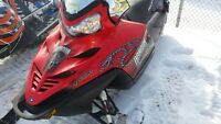 Polaris IQ 800 Turbo EFI studded electric and reverse 4 stroke
