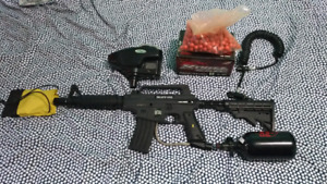 Bravo One Tactical Edition E-Trigger Paintball Gun For Sale