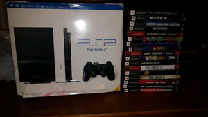 New !!! Ps2 and 17 games