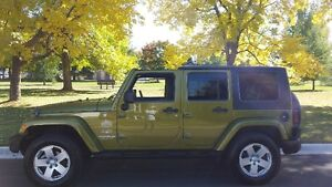 2007 JEEP WRANGLER SAHARA**REDUCED** NOW ONLY $13500!!!!