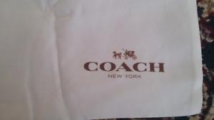 Authentic Coach  dust bag !! Moving Sale