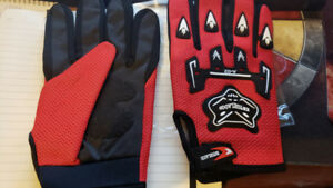 BMX Bike Gloves - NEW - Brand: KNTGHLAOOD - Size Medium