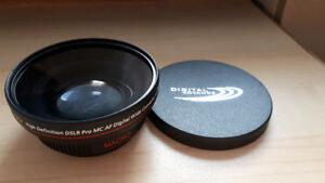 Brand New Digital Advance HD Wide Converter .48x58mm.