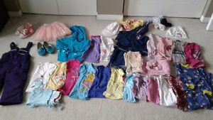 Girls clothing lot size 2