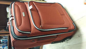 Luggage like new 21 X 14 X 9 carry-on valise