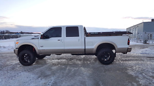 2011 Ford F250 King Ranch 6.7L Diesel Lifted