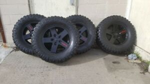 2007-2018 Jeep Wrangler Tires and Rims
