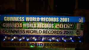 EVERY YEAR IS  NEW- GUINESS WORLD BOOKS OF RECORDS 2001-2005