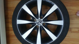 Mazda 2 summer tires with original mags