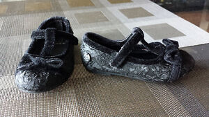 MEXX size 5 Black Lace Dress Shoes - Toddler Girl