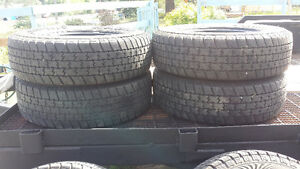 6 roughrider A/T truck tires