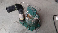 Pompe submersible Zoeller 1/3HP