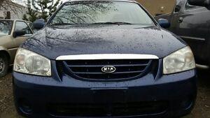 2005 Kia Spectra Sedan ONLY  122705 k BEST DEAL