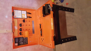 Home depot stand & tools